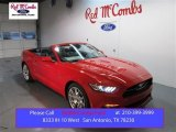 2015 Race Red Ford Mustang GT Premium Convertible #100592983