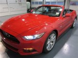 2015 Ford Mustang GT Premium Convertible Front 3/4 View