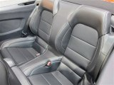 2015 Ford Mustang GT Premium Convertible Rear Seat