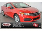 2015 Crimson Pearl Honda Civic LX Coupe #100592961