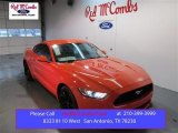 2015 Competition Orange Ford Mustang EcoBoost Premium Coupe #100592982