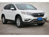2015 White Diamond Pearl Honda CR-V EX #100593168