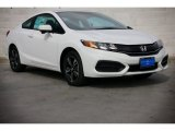 2015 Taffeta White Honda Civic EX Coupe #100593156