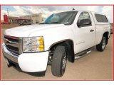 2008 Summit White Chevrolet Silverado 1500 Work Truck Regular Cab #10049992