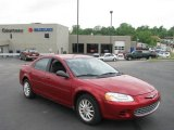 2002 Inferno Red Pearl Chrysler Sebring LX Sedan #10053453