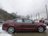 2015 Bronze Fire Metallic Ford Fusion Hybrid Titanium #100618753