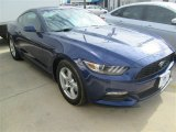 2015 Deep Impact Blue Metallic Ford Mustang V6 Coupe #100618748