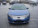 2010 Sport Blue Metallic Ford Fusion Sport #100618889