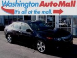2010 Crystal Black Pearl Acura TSX Sedan #100636765