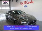 2015 Magnetic Metallic Ford Mustang EcoBoost Coupe #100636677