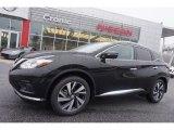 2015 Magnetic Black Nissan Murano Platinum #100636975