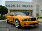 2007 Grabber Orange Ford Mustang Saleen Parnelli Jones Edition #10043432