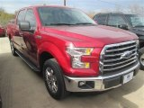 2015 Ruby Red Metallic Ford F150 XLT SuperCrew #100636688