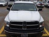 2011 Bright White Dodge Ram 1500 ST Quad Cab 4x4 #100672545
