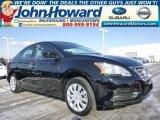 2014 Super Black Nissan Sentra S #100672711
