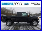 2015 Tuxedo Black Ford F250 Super Duty Lariat Super Cab 4x4 #100672314