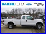 2015 Oxford White Ford F250 Super Duty XL Super Cab 4x4 #100672309