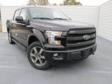 2015 Tuxedo Black Metallic Ford F150 Lariat SuperCrew 4x4 #100672529