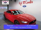 2015 Race Red Ford Mustang EcoBoost Coupe #100672338