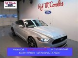 2015 Ingot Silver Metallic Ford Mustang EcoBoost Coupe #100672337