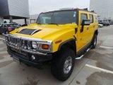 2007 Hummer H2 Yellow