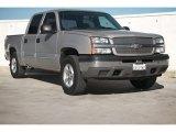2005 Silver Birch Metallic Chevrolet Silverado 1500 LS Crew Cab #100715200
