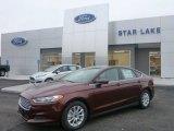 2015 Bronze Fire Metallic Ford Fusion S #100715415
