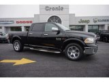 2015 Black Ram 1500 Laramie Crew Cab 4x4 #100715250