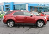 2010 Cardinal Red Metallic Chevrolet Equinox LTZ #100715018