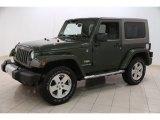 2008 Jeep Wrangler Jeep Green Metallic