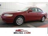 2002 San Marino Red Honda Accord EX V6 Coupe #100714925