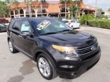 2014 Tuxedo Black Ford Explorer Limited #100715074