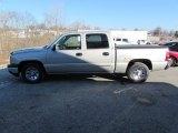 2006 Silver Birch Metallic Chevrolet Silverado 1500 LS Crew Cab #100751535