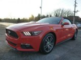 2015 Ford Mustang Competition Orange
