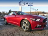2015 Ruby Red Metallic Ford Mustang V6 Convertible #100751226