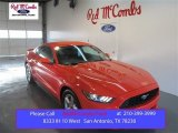 2015 Competition Orange Ford Mustang V6 Coupe #100751141