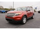 2013 Ruby Red Metallic Ford Explorer FWD #100751370