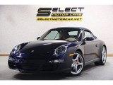 2008 Midnight Blue Metallic Porsche 911 Carrera S Cabriolet #100751198
