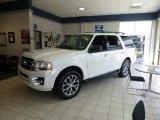 2015 White Platinum Metallic Tri-Coat Ford Expedition XLT 4x4 #100751120