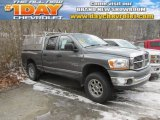 2006 Mineral Gray Metallic Dodge Ram 1500 Big Horn Edition Quad Cab 4x4 #100751106