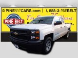 2015 Summit White Chevrolet Silverado 1500 WT Double Cab #100791833