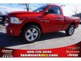 2015 Flame Red Ram 1500 Express Regular Cab 4x4 #100791995
