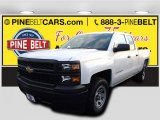2015 Summit White Chevrolet Silverado 1500 WT Double Cab #100791832