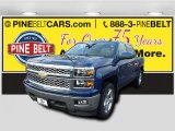 Deep Ocean Blue Metallic Chevrolet Silverado 1500 in 2015