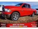 2015 Flame Red Ram 1500 Big Horn Quad Cab #100791994