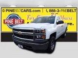 2015 Summit White Chevrolet Silverado 1500 WT Regular Cab 4x4 #100791828