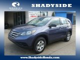 2012 Twilight Blue Metallic Honda CR-V LX 4WD #100791990
