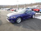 2015 Deep Impact Blue Metallic Ford Mustang V6 Coupe #100791901
