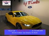 2015 Triple Yellow Tricoat Ford Mustang GT Premium Coupe #100791924