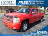 2013 Victory Red Chevrolet Silverado 1500 LT Extended Cab #100792092